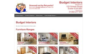 Budget Interiors Exeter