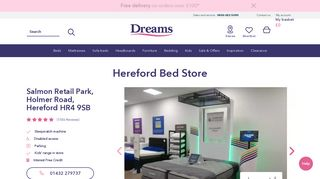 Dreams Furniture Hereford