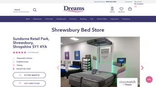 Dreams Furniture Shrewsbury