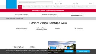 Furniture Village Tunbridge Wells