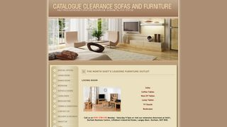 Catalogue Clearance Sofa