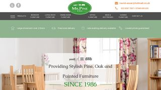 Mr Pine & Sons Furniture Store