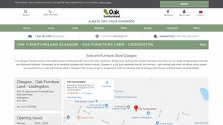 Oak Furniture Land Glasgow