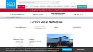 Furniture Village Nottingham