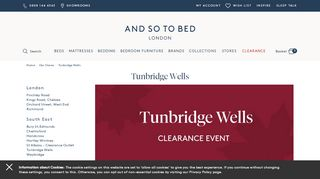 And So To Bed Tunbridge Wells