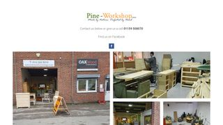 Pine Workshop Nottingham