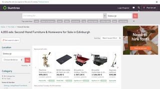 Gumtree Furniture Edinburgh